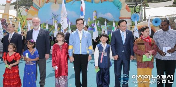 세계최초 친환경디자인박람회 5일 화려한 개막