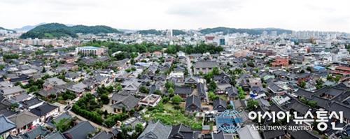 전북 전주한옥마을 전경