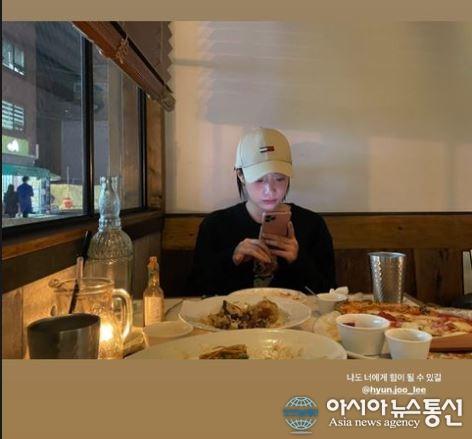 """유니티 수지, 전 4 월 멤버 이현주 응원 """"힘이 됐으면 좋겠다"""""""